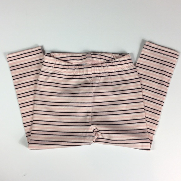 GAP Other - Gap Girls Pink and Blue Striped Leggings Size 2T